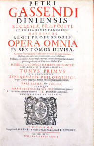 Gassendi Opera Omnia tp